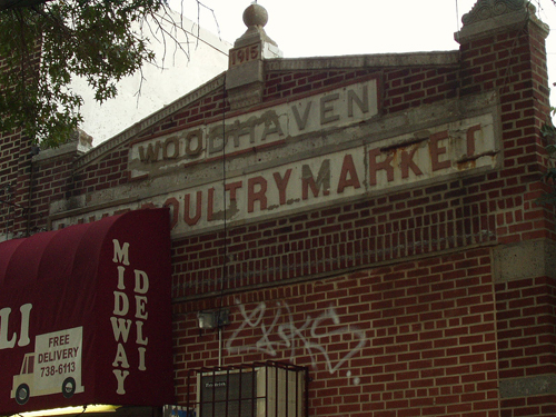Woodhaven Live Poultry Market c.1915